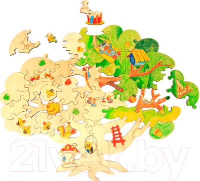 Пазл Woody Чудесное дерево / 00280