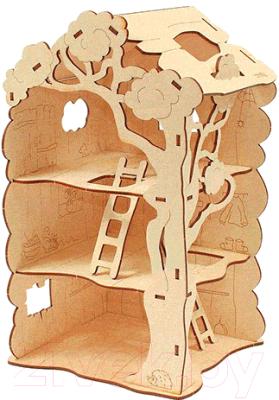 Сборная игрушка Woody Дом-дерево для Лешиков / 00730
