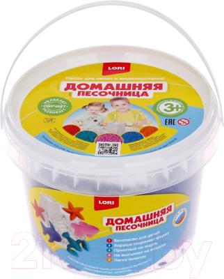 Кинетический песок Lori Синий песок / Дп-009