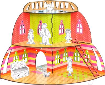 Сборная игрушка Woody Вилла Радуга / 01553