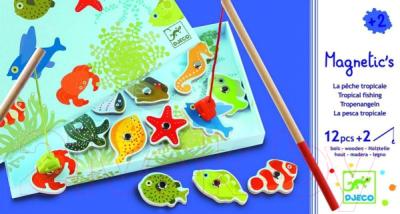 Развивающая игрушка Djeco Тропическая рыбалка / 01652