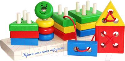 Развивающая игрушка Краснокамская игрушка Геометрик / НСК-01