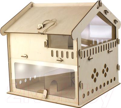 Сборная игрушка Woody Домик для хомячка / 06008