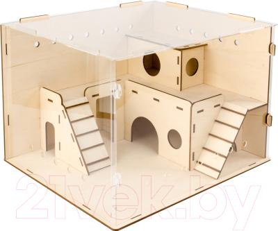 Сборная игрушка Woody Домик для хомячка / 06015