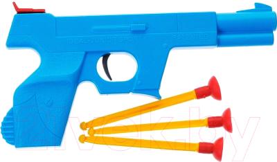 Бластер игрушечный Bauer Пистолет Спецназ 087