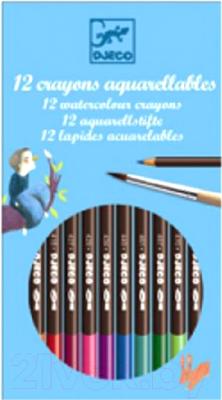 Набор акварельных карандашей Djeco Акварель / 08824