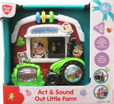 Развивающая игрушка PlayGo Веселая ферма / 1002
