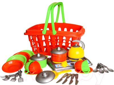 Набор игрушечной посуды ТехноК Кухня Галинка 10 / 1172