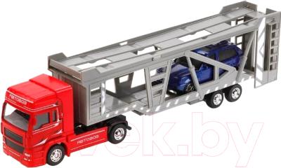 Автовоз игрушечный Технопарк 1011-R