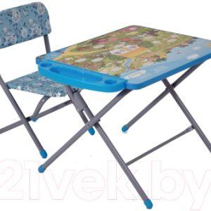 Комплект мебели с детским столом Фея Досуг 101 Веселая ферма