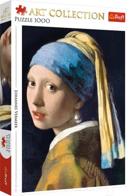 Пазл Trefl Арт коллекция. Девушка с жемчужной серёжкой. Бриджмен / 10522A