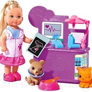 Кукла с аксессуарами Simba Еви ветеринар / 105732798