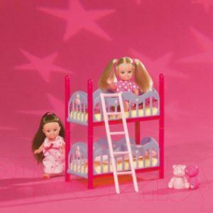 Кукла с аксессуарами Simba Подружки Эви и двухэтажная кровать 105733847