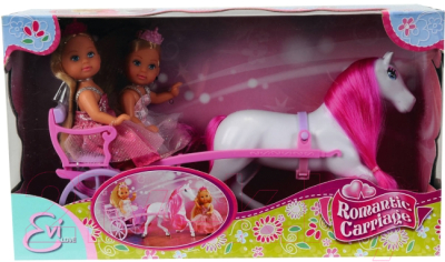 Набор кукол Simba Принцесса Эви с каретой / 105736646