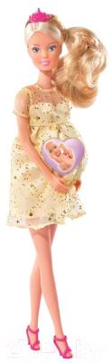 Кукла с аксессуарами Simba Штеффи беременная с люлькой 105737084