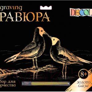 Набор для творчества Decola Гравюра Птички / 10647180