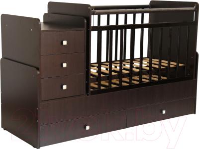 Детская кровать-трансформер Фея 1100