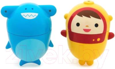 Набор игрушек для ванной Munchkin Дайвер и акула / 1120377