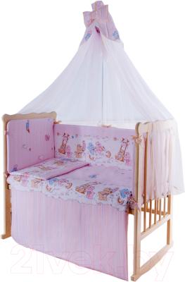 Комплект постельный в кроватку Баю-Бай Забава / К120-З1
