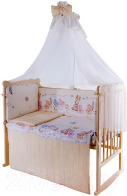 Комплект постельный в кроватку Баю-Бай Забава / К120-З2