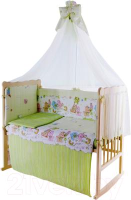 Комплект постельный в кроватку Баю-Бай Забава / К120-З3