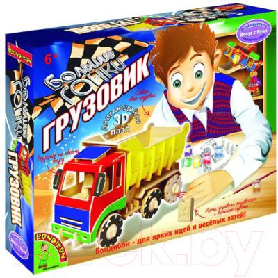 Сборная игрушка Bondibon Большие гонки. Грузовик / ВВ1209
