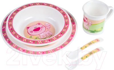 Набор детской посуды Canpol 12+ 4/401