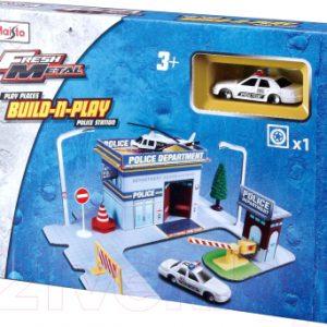 Автомобиль игрушечный Maisto Полиция / 12513