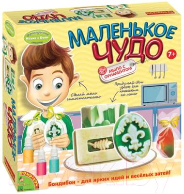 Набор для изготовления мыла Bondibon Науки с Буки. Мыло с орнаментом / ВВ1255