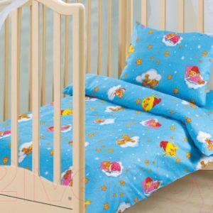 Комплект постельный в кроватку АртПостель Облачко 130