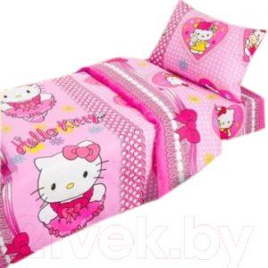 Комплект постельный в кроватку АртПостель Бантики 130