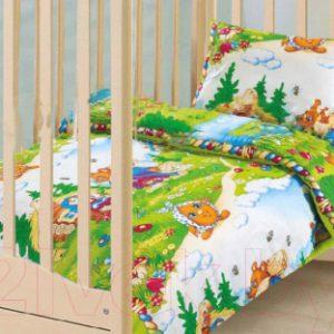 Комплект постельный в кроватку АртПостель В гостях у сказки 130