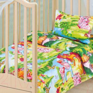 Комплект постельный в кроватку АртПостель Волшебные сны 130