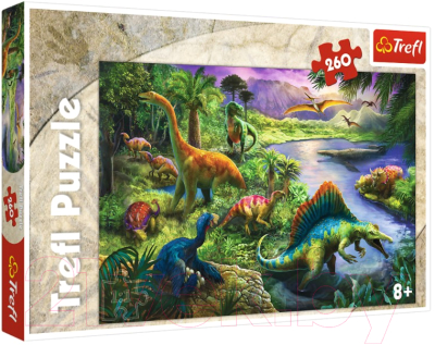 Пазл Trefl Динозавры / 13214