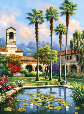 Набор алмазной вышивки Алмазная живопись Райский сад / АЖ-1346