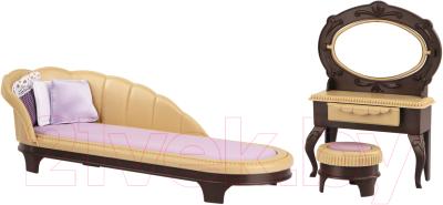 Комплект аксессуаров для кукольного домика Огонек Мебель для будуара. Коллекция / С-1369