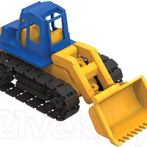 Трактор игрушечный Нордпласт Байкал с грейдером / 138