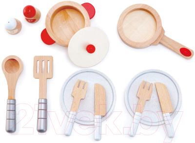 Набор игрушечной посуды Hape 13 предметов / E3150-HP