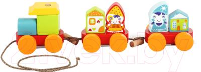 Развивающая игрушка Levenya Сказочный поезд / 14002