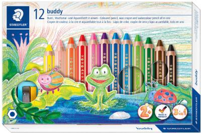 Набор цветных карандашей Staedtler 140 C12