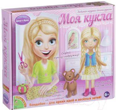 Набор для творчества Bondibon Моя кукла. Любимая игрушка своими руками - Блондинка / ВВ1410