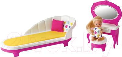 Комплект аксессуаров для кукольного домика Огонек Будуар Зефир / С-1414