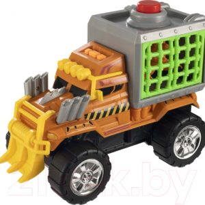 Автомобиль игрушечный Teamsterz Монстр-трак с динозавром в клетке / 1417115