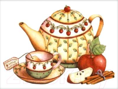 Набор алмазной вышивки Алмазная живопись Чай с корицей / АЖ-1429
