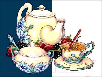 Набор алмазной вышивки Алмазная живопись Чайная традиция / АЖ-1430