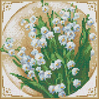 Набор алмазной вышивки Алмазная живопись Первые ландыши / АЖ-1443