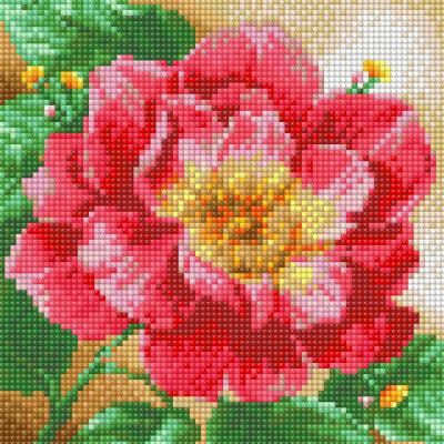 Набор алмазной вышивки Алмазная живопись Цветущий пион / АЖ-1444