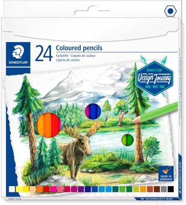 Набор цветных карандашей Staedtler 146C C24