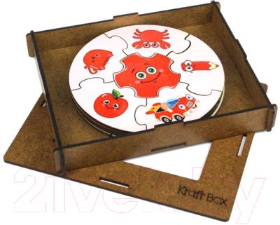 Пазл WoodLand Toys Цвета. Круглые / 149101