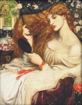 Набор алмазной вышивки Алмазная живопись Леди Лилит / АЖ-1537
